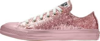 Nike Converse Custom Chuck Taylor All Star Glitter Low Top Shoe