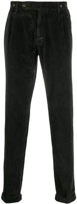 Berwich corduroy tapered trousers