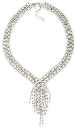 Carolee Pave Fringe Bridal Necklace