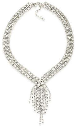 Carolee Pave Fringe Bridal Necklace
