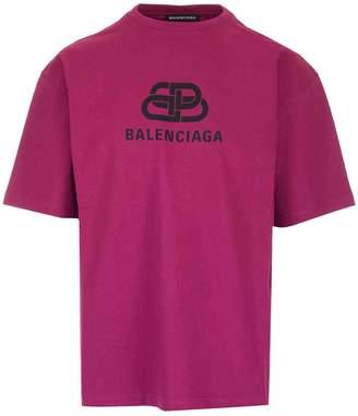 Balenciaga BB Logo Printed T-Shirt