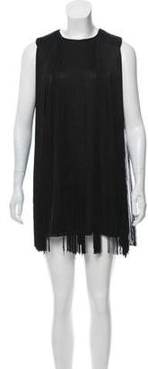 Rachel Zoe Fringe Mini Dress w/ Tags