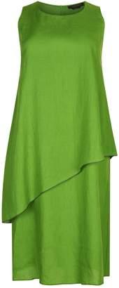 Marina Rinaldi Layered Linen Dress