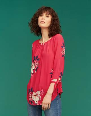 Joules Clothing Trisha Shell Top With Tie Sleeve