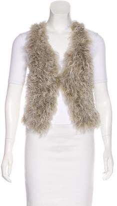 Isabel Marant Cropped Shearling Vest