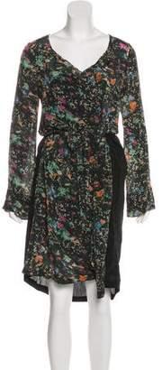 Zadig & Voltaire Long Sleeve Midi Dress