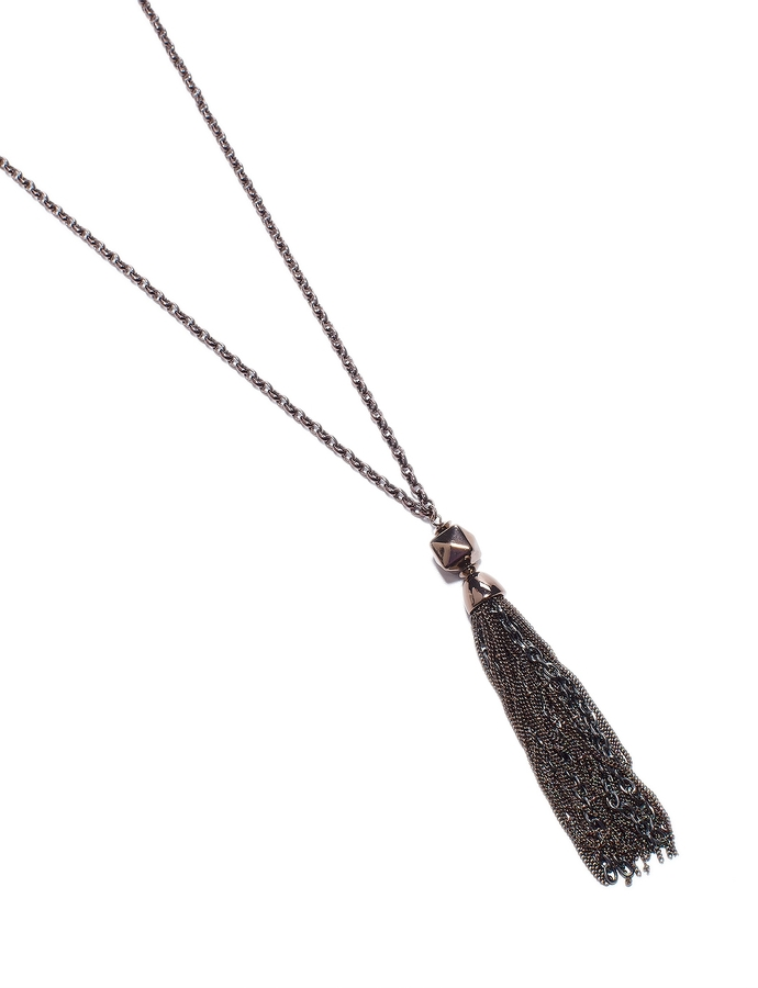 The Limited Tassel Pendant Necklace