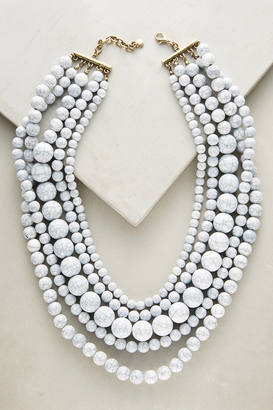 BaubleBar Globe Layered Bib Necklace $58 thestylecure.com