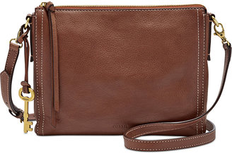 Fossil Emma East West Leather Crossbody $138 thestylecure.com