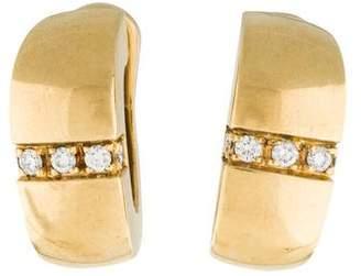 Mauboussin 18K Diamond Earclips