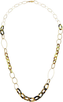 A.V. Max Long Vanilla Link Necklace