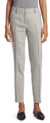 Akris Punto Birdseye Fabia Knit Stretch Wool Trousers