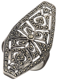 Tang And Song Hallow Octagon Ring
