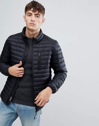 Esprit Ultra Light Thinsulate Puffer Jacket In Black