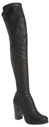 Calvin Klein 'Bisma' Over the Knee Boot (Women) (Nordstrom Exclusive) $188.95 thestylecure.com