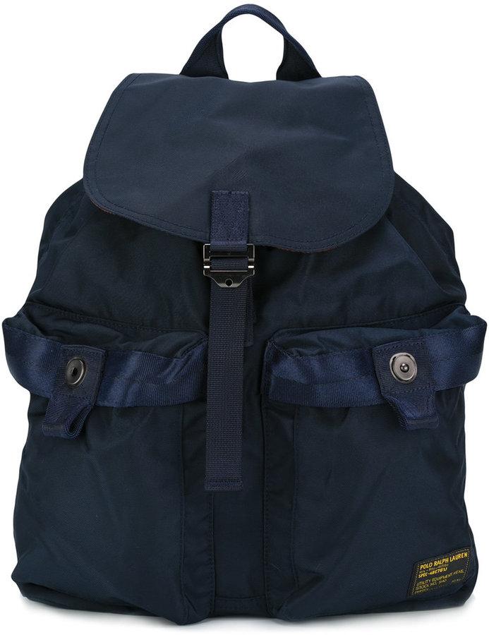 Polo Ralph LaurenPolo Ralph Lauren buckled backpack