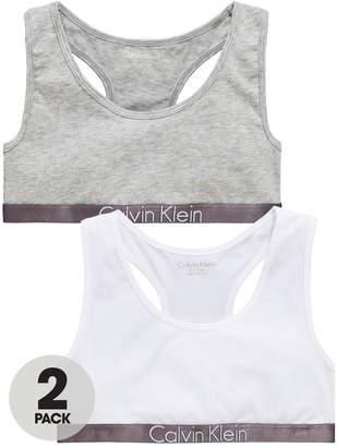 Calvin Klein Girls 2 Pack Bralette