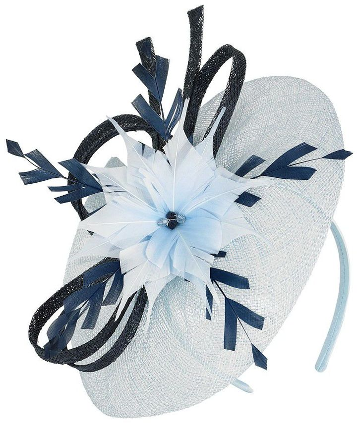 Jacques Vert Powder blue fascinator