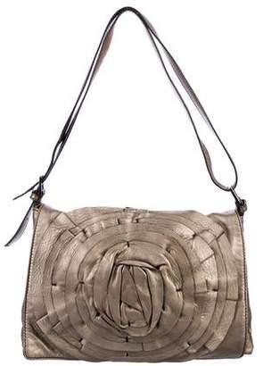 Valentino Petale Leather Shoulder Bag