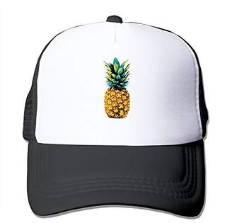 Dunlop Retro Pineapple Tropical Design Beach California Trucker Snapbacks Hats