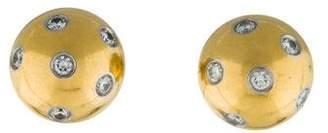 Tiffany & Co. Etoile Diamond Ball Earrings