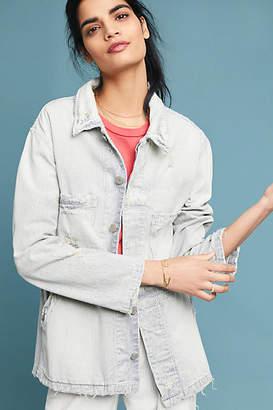Amo Distressed Stripe Jacket