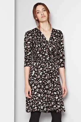 Great Plains Winter Clover Wrap Dress
