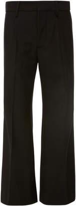 Burberry Crepe Wide-Leg Pants
