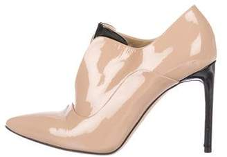 Reed Krakoff Patent Leather Pointed-Toe Booties