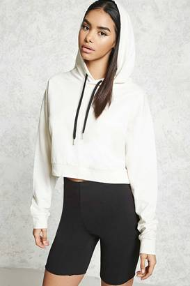 FOREVER 21+ Cropped French Terry Hoodie $14.90 thestylecure.com