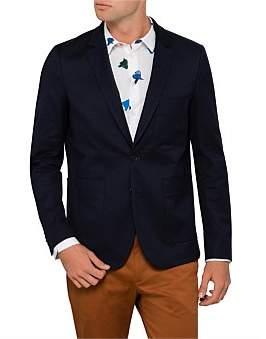 Paul Smith Cotton Elastane Patch Pocket Mid Fit Blazer