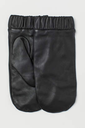 H&M Leather Mittens