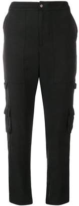 Gold Hawk cropped cargo trousers