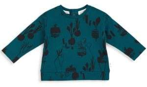 Miles Baby Baby's& Toddler's French Terry Garden Print Top