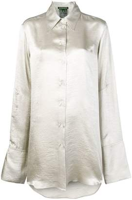 Ann Demeulemeester long blouse