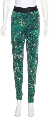 Y-3 High-Rise Printed Leggings w/ Tags