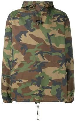 Stussy military printed hoodie
