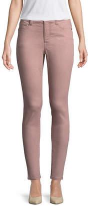 ST. JOHN'S BAY Secretly Slender Womens Mid Rise Skinny Fit Jean