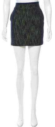 Claudie Pierlot Woven Mini Skirt