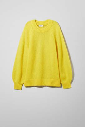 Yellow Knitwear Shopstyle Uk Weekday For Women K1Julc3TF