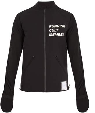 Satisfy Lightweight waterproof running jacket