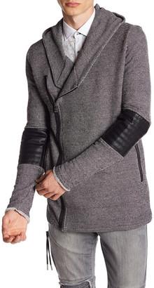 Ron Tomson Moto Sleeve Zipper Cardigan $175 thestylecure.com