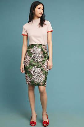 Bronx and Banco Cherry Blossom Pencil Skirt