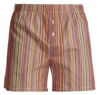 Paul Smith Signature Stripe Pyjama Shorts - Mens - Multi