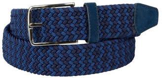 Asstd National Brand Dallas + Main Multi Color Stretch Web Casual Belt