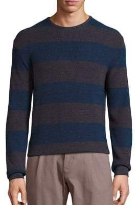 Saks Fifth Avenue COLLECTION Merino Stripe Pullover