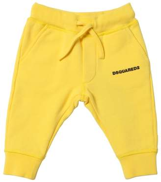 DSQUARED2 Logo Detail Cotton Sweatpants