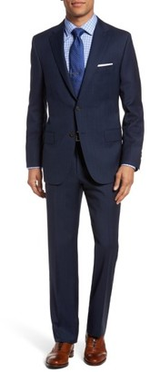 Men's Hickey Freeman B-Series Classic Fit Plaid Wool Suit $1,495 thestylecure.com