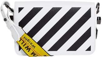Off-White Off White Mini Diagonal Stripe Shoulder Bag