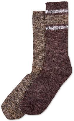 Hue 2-Pk. Marled Stripe Boot Socks